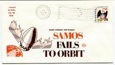 1976 Samos Fail Orbit Exact Mission Delta Vandenberg AFB California SPACE USA