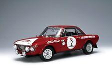 1:18 Autoart LANCIA Fulvia 1.6hf WINNER of SANREMO RALLY 1972 Rarità Nuovo in scatola originale