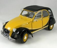 CITROEN 2CV6 CHARLESTON 1982 JAUNE & NOIRE SOLIDO 421183510 1/18 2CV 6 YELLOW