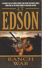 Ranch War by J. T. Edson (2006, Paperback)