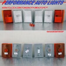 Set of 4pcs Clear Corner Lights for 1990-1993 Chevrolet C/K Full Size Truck SUV