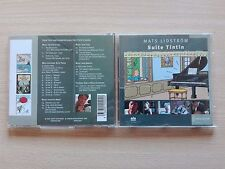 "TINTIN – ""MATS LIDSTRÖM / SUITE TINTIN''. CD WITH 14 PAGE BOOKLET."