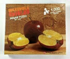 Incredible Edibles: Apple Orange Puzzle #1005 (1986, Avalon Hill) NEW Sealed