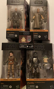 """Lot Of Star Wars Black Series The Mandalorian 6"""" Action Figures Some Very Rare"""
