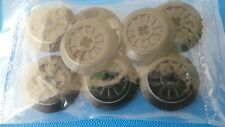Lego Train Wheels with Rubber Band O-Ring Friction Band 4621116 x 8 ***NEW***