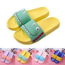 Toddler Kids Baby Boys Girls Summer Indoors Cute Cartoon Sandals Slippers Shoes