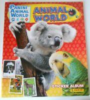 Animal World Album Vuoto Panini