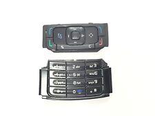 2x Tastatur unten oben Keypad Tastaturmatte Tastenmatte für Nokia N95 Schwarz