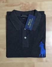 Ralph Lauren Polo T-Shirt Big Pony manches Courtes Anthracite Noir Taille S