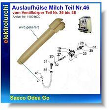 Auslaufhülse Milch, Schlauch Silikonschlauch Saeco Odea Go SUP031O, 11001630