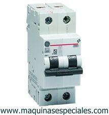 Interruptor automático magnetotérmico 25A MCB circuit breaker General Electric.
