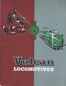 Vulcan Locomotives.