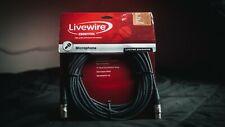 Livewire Advantage XLR Microphone Cable 25ft. Black