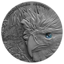 Niue 2018 $2 Philippine Eagle 1 oz Antique Finish High Relief Silver Coin 500pcs