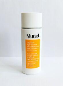 Murad City Skin Age Defense Broad Spectrum SPF 50 PA ++++ 50ml NEW