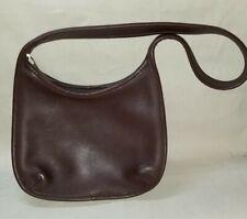 Vintage Coach 9020 Ergo Hobo Chocolate Brown Leather Shoulder Bag Excellent