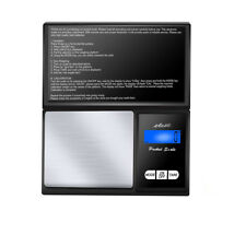 200g * 0.01g LCD Digital Pocket Scale Jewelry Gold Gram Balance Weight Scale EN