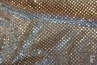3 mm SEQUIN FABRIC - ONE WAY STRETCH - 100% POLYESTER - WIDTH 110 CM