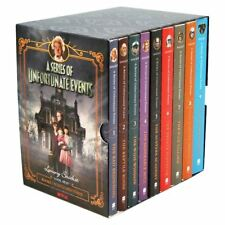 Lemony Snicket a Series of Unfortunate Events 9 Book Set on Netflix