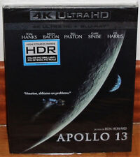 APOLLO 13 BLU-RAY 4K ULTRA HD+BLU-RAY NEW SLIPCOVER SPANISH (UNOPENED) R2