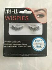 Ardell Demi Wispies Black 1 Pair of Lashes and Adhesive - New