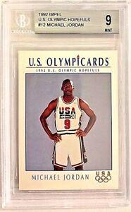 1992 Impel #12 Michael Jordan BGS 9