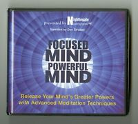 Focused Mind, Powerful Mind: Nightingale Learning Systems - Dan Strutzel - 9CDs