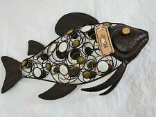 Ornate Decorative Metalwork Ironwork Fish Wrought Freestanding My Name is Finlay