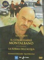 DVD SERIE TV FILM IL COMMISSARIO MONTALBANO 1 STAGIONE,LA FORMA DELL'ACQUA libri