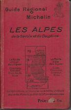 guide régional Michelin les alpes (1927)