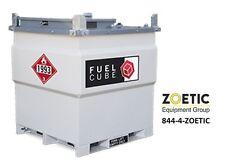 Western Global FCP500 FuelCube, 500 Gallon Stationary Fuel Storage Tank
