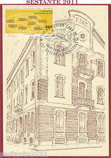 ITALIA MAXIMUM MAXI CARD UNIONE GRUPPI ANZIANI FIAT 1992 ANNULLO TORINO C557
