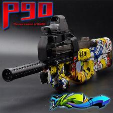 P90 Graffiti Electric Water Bullet Gun Strike Dart Blaster Elite Toy Lot Cs