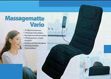 Neu Vario Fit Massagematte Massageauflage Massagesitz Luxus Massage 10 Motoren