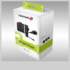 PAQUETE DE VIAJE TOMTOM ESTUCHE CARGADOR DOMESTICO USB Y ADAPTADORES INCLUIDOS