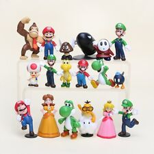 SUPER MARIO BROS. 18 PERSONAGGI - Action  Figure Modellini Statuine