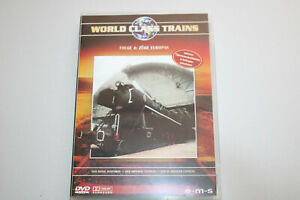 World Class Trains DVD Folge 4: Züge Europas OVP