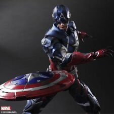 MARVEL UNIVERSE VARIANT Play Arts Kai Captain America Square Enix Free shipping