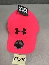 NWT Under Armour Women's Renegade Hat Cap Adjustable OSFA Black Pink Plum Blue