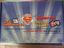 Snap On Limited Edition Superman Dale Earnhardt Diecast Grip Screwdriver Set