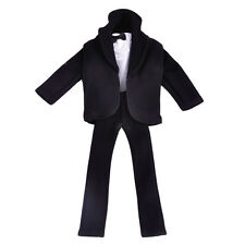 Ken Tuxedo Doll Formal Clothes Barbie Suit Outfit Wedding Groom Shirt Coat Pants