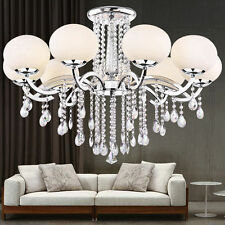 European Luxury 9-Light Crystal Chandelier Ceiling Lamp pendant Light Modern NEW