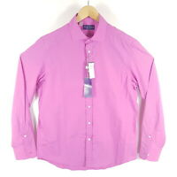 Ralph Lauren Purple Label Hemd Herren L Gr. 41 16 Pink Langarm Business Shirt