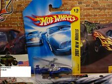 HOT WHEELS 2007 FE #13 -180-2 SKY KNIFE BLUE NMC AMER