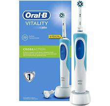 ORAL-B Vitality CrossAction Elektrische Zahnbürste mit Timer Zahn Pflege weiß