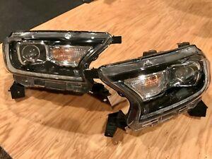 2019 2020 2021 Ford Ranger Full LED Headlight Set OEM Left Right Pair Lariat XLT