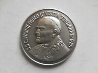 Vaticano medaglia visita papa Giovanni Paolo II a Tindari Messina 1988 RARA