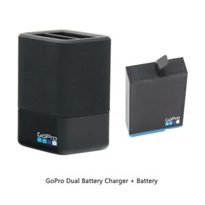 GoPro Dual Battery Charger With Battery for GoPro HERO8 Black (AJDBD001)