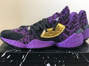 Adidas Harden Vol. 4 Star Wars Lightsaber Purple EH2456 Basketball Shoes Sneaker