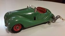 Vintage Green Schuco Examico 4001 Wind Up Toy Car - Works With Key & Windshield